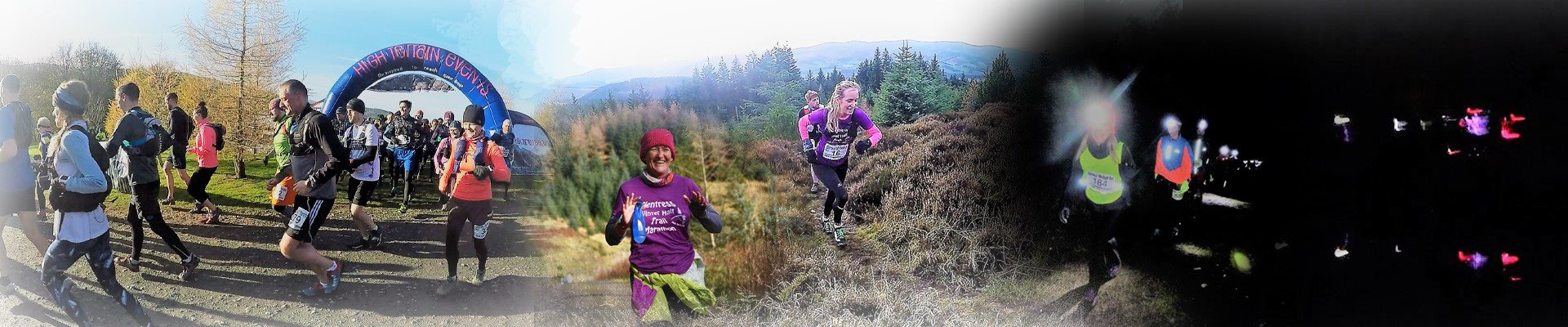 Glentress Winter Half Marathon & 10k Night Trail Races 2018